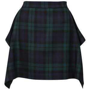 V. Westwood plaid Skirt