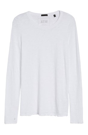 ATM Anthony Thomas Melillo Destroyed Wash Tee | Nordstrom