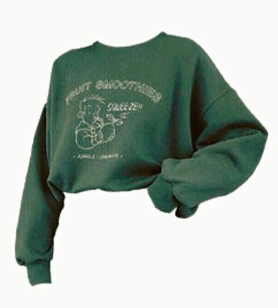 green sweatshirt png