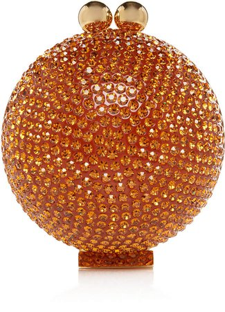 Marzook Mini Sun Orb Swarovski Crystal Clutch