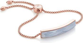 Monica Vinader Rose Gold Baja Facet Bracelet | Nordstrom
