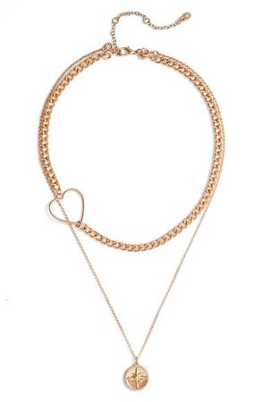BP. Charm Layered Necklace | Nordstrom