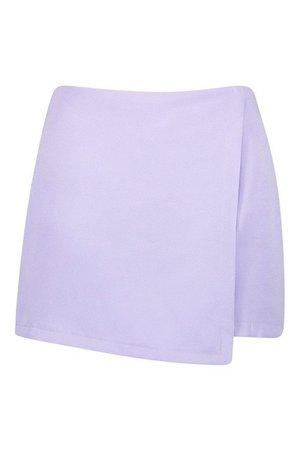 Woven Wrap Front Short | Boohoo