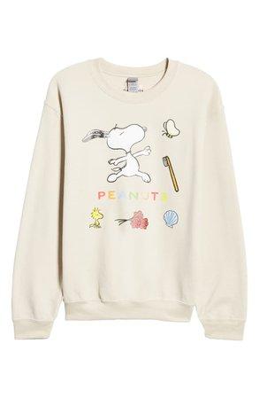 Lorien Stern x Peanuts® Snoopy Dance Graphic Sweatshirt (Nordstrom Exclusive) | Nordstrom