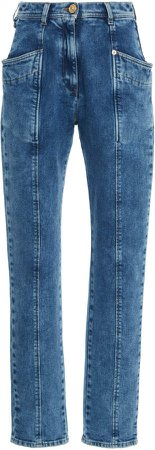 Versace High-Rise Skinny Jeans Size: 25