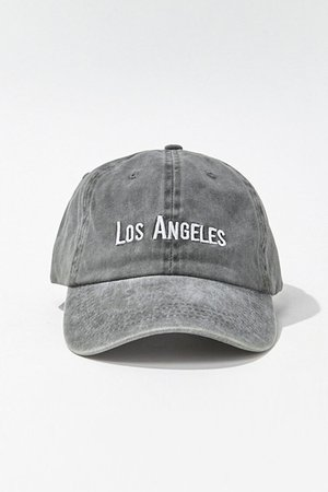 LA Embroidered Graphic Dad Cap | Forever 21