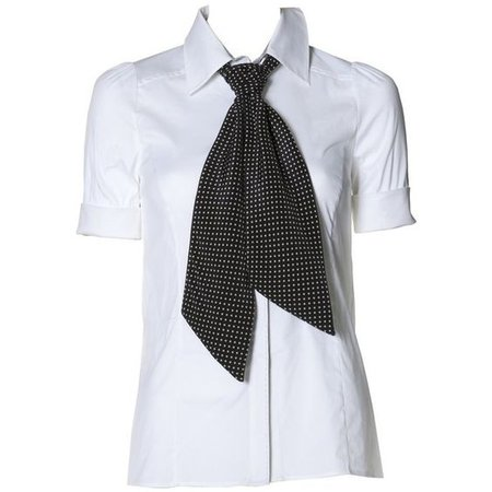 riley short sleeve blouse with tie