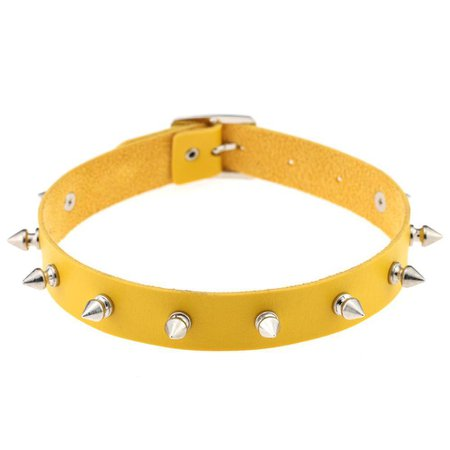 Yellow choker