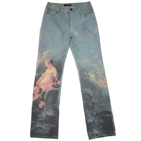 HIDDEN® sur Instagram: Vintage #robertocavalli 'venus' painting jeans