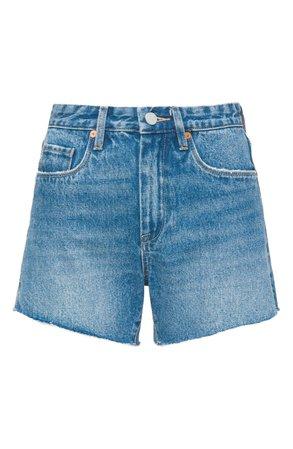 BLANKNYC Denim Mom Shorts (Good Vibrations)   Nordstrom