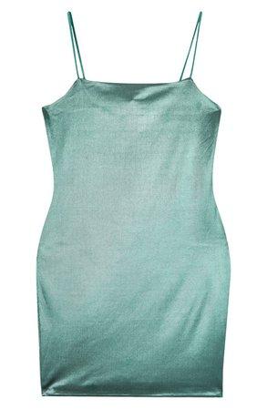 Topshop Satin Cowl Minidress | Nordstrom