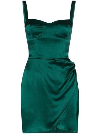 Reformation Fonda Silk Mini Dress - Farfetch
