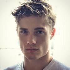 cute blonde guy -