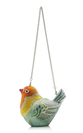 Love Bird Crystal Novelty Clutch By Judith Leiber Couture | Moda Operandi