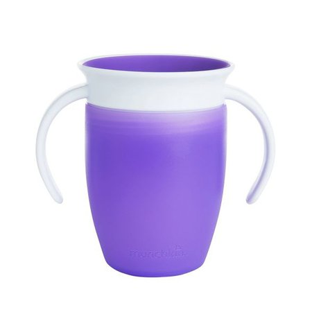 Munchkin Miracle 360 Sippy Cup - 7oz Purple : Target