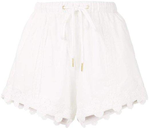 Beatrix drawstring shorts