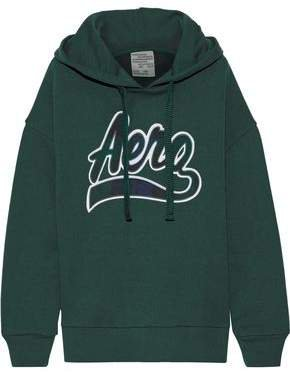 Jaryn Appliqued French Cotton-blend Terry Hoodie