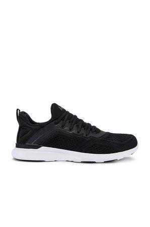 APL: Athletic Propulsion Labs TechLoom Tracer Sneaker in Black & White   REVOLVE