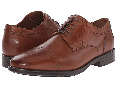 Johnston & Murphy Waterproof XC4 Branning Cap Dress Cap Toe Oxford at Zappos.com