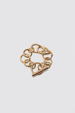 LINKED BRACELET | ZARA United States gold