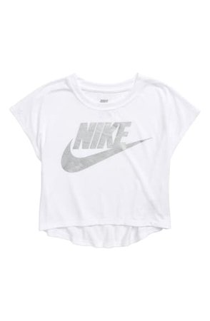 Nike Boxy Graphic Tee (Little Girls) | Nordstrom