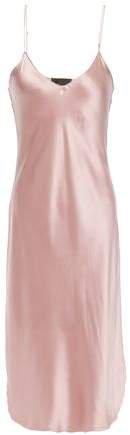 Silk-charmeuse Slip Dress