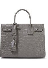 Saint Laurent Saint Laurent Sac De Jour Baby croc-effect leather tote | Handbags
