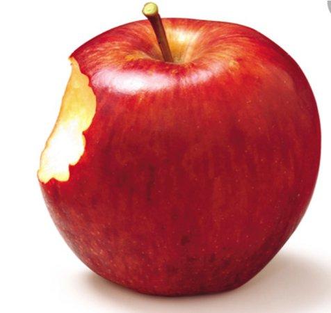 maçã mordida