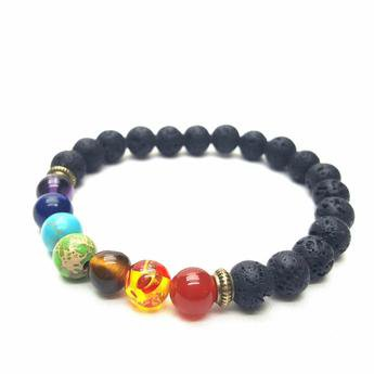 Chakras Aligned Bracelet