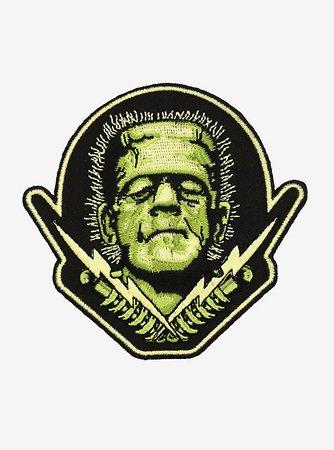 Rock Rebel Frankenstein Bolts Patch