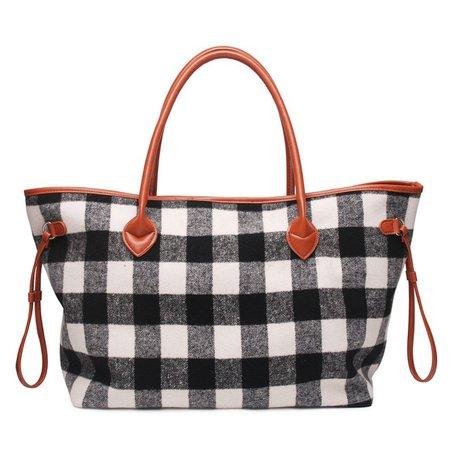 Wholesale-Domil-Endless-Plaid-Women-Handbag-Black-And-White-Check-Design-Tote-Bag-Large-Capacity-Buffalo.jpg_640x640.jpg (640×640)