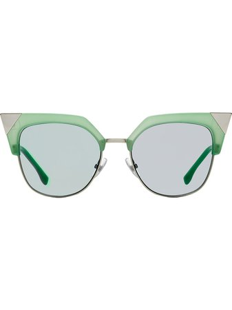 Fendi Eyewear Iridia Sunglasses - Farfetch