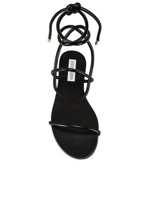 Steve Madden Twirl Sandal in Black | REVOLVE
