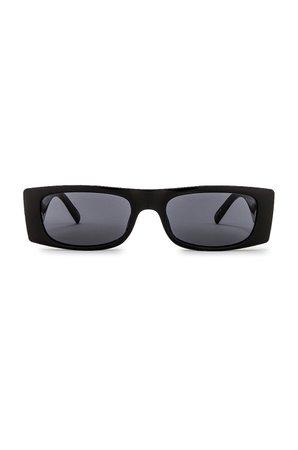 Le Specs Recovery in Black & Smoke Mono | REVOLVE
