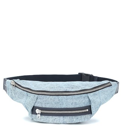 Noomi denim belt bag