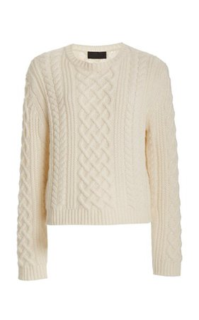 Jodelle Cable-Knit Cashmere Sweater By Nili Lotan | Moda Operandi