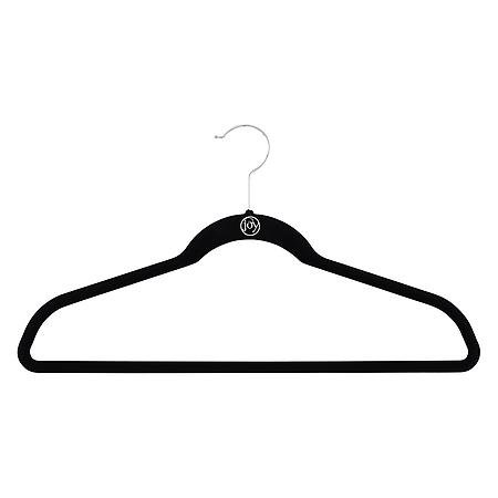 Huggable Hangers - Joy Mangano Black Huggable Hangers   The Container Store