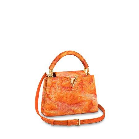 Capucines Mini Lizard - Handbags | LOUIS VUITTON ®