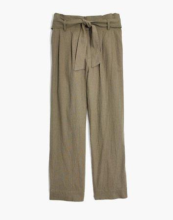 Madewell Paperbag Pants