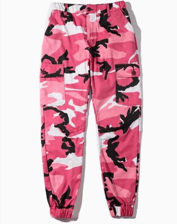 pink camo pant
