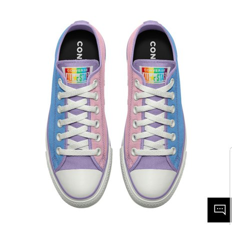 bi pride shoes
