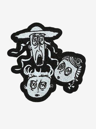 Coraline Ghost Children Patch