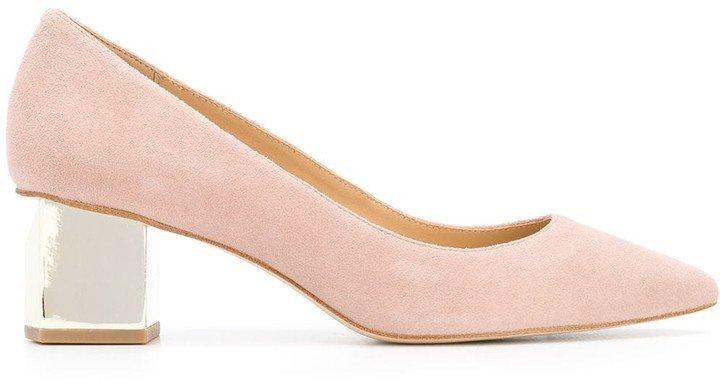 Petra sculpted heel pumps