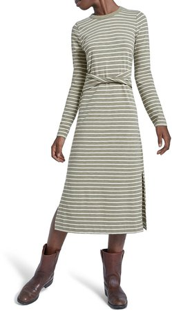 The Studio Long Sleeve Mid Dress