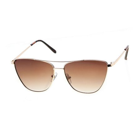 Worthington Cativator Womens Sunglasses, Color: Gold - JCPenney