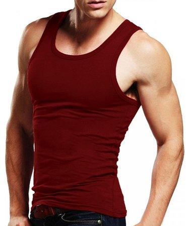 red tank-top-sleeveless-