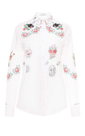 VIVETTA Norma Embroidered Shirt