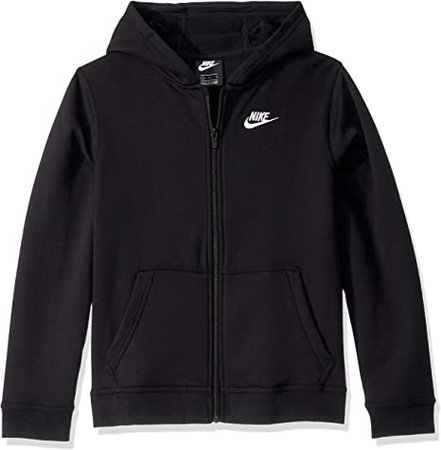 Amazon.com: Nike Boys NSW Club Full Zip Hoodie: Clothing