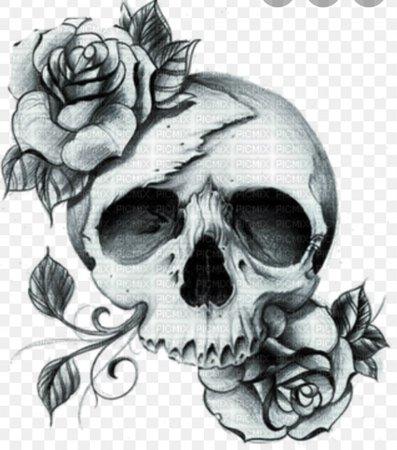 skull goth