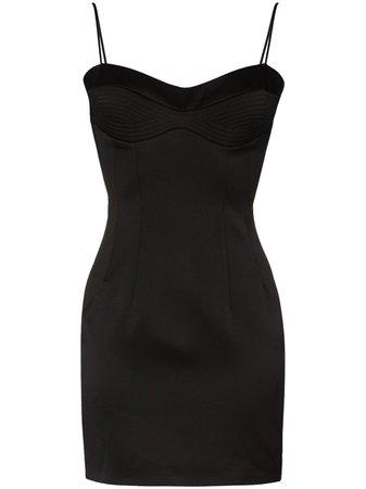 RASARIO sweetheart-neck Mini Dress - Farfetch